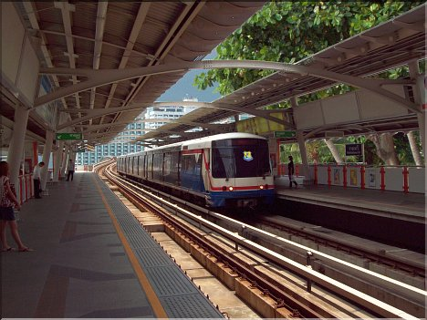 Skytrain in Pattaya