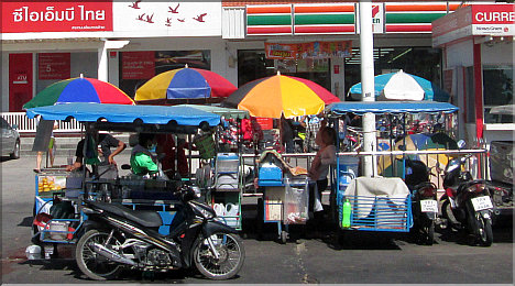 Pattaya's Mobile Kitchens