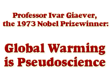 Global Warming is Pseudoscience