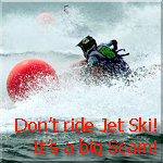 Do not ride Jet Ski in Pattaya!