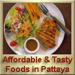 Affordable & Tasty Foods in Pattaya